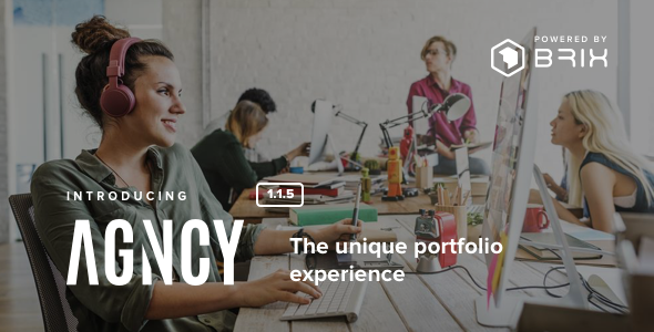Agncy - Creative & Modern Portfolio WordPress Theme - Portfolio Creative
