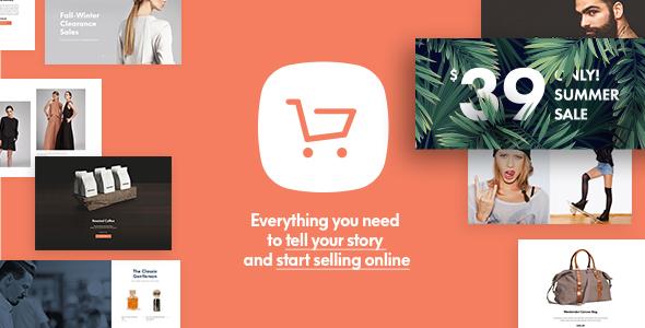 Shopkeeper - eCommerce WP Theme for WooCommerce