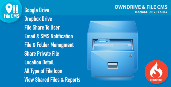 OwnDrive & File CMS - CodeCanyon Item for Sale
