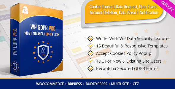 WP GDPR PRO - Most Advanced GDPR Plugin            Nulled