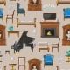 VIP Vintage Interior Furniture Rich Wealthy House