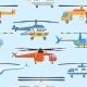 Helicopter Air Transport Propeller Aerial Vehicle