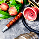 Eastern shisha with peach - PhotoDune Item for Sale