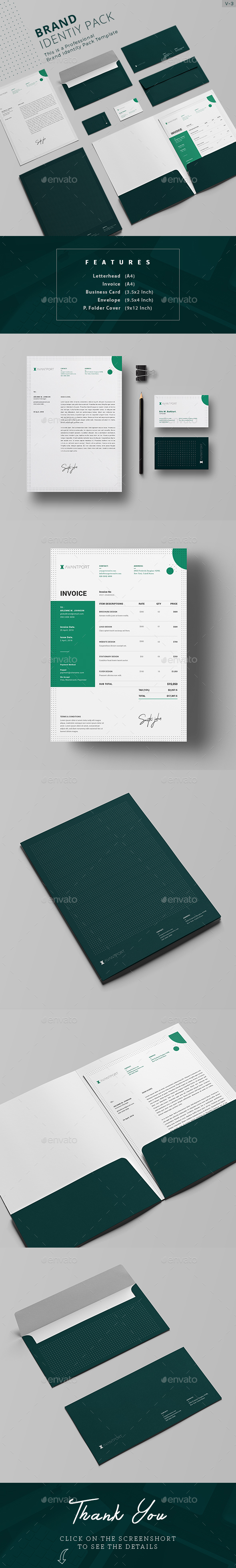 Corporate Identity - Stationery Print Templates