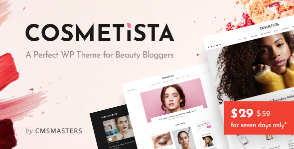 Cosmetista - Beauty & Makeup Theme