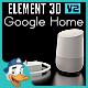 Google Home for Element 3D - 3DOcean Item for Sale