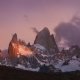 Mount Fitz Roy at Dawn. Argentina, Patagonia - VideoHive Item for Sale
