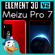 Meizu Pro 7 for Element 3D - 3DOcean Item for Sale