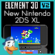 New Nintendo 2DS XL for Element 3D - 3DOcean Item for Sale