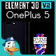 OnePlus 5 for Element 3D - 3DOcean Item for Sale