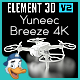 Yuneec Breeze 4K for Element 3D - 3DOcean Item for Sale
