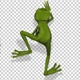 Crawling Green Frog - VideoHive Item for Sale