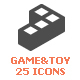 25 Game&Toy Filled Icon - GraphicRiver Item for Sale
