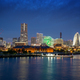 Yokohama skyline in the evening - PhotoDune Item for Sale