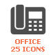 Office & Stationary Filled Icon - GraphicRiver Item for Sale