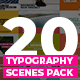 20 Trendy Typography Scenes - VideoHive Item for Sale