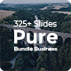 Pure Business Bundle 2 in 1 Keynote Template