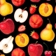 Seamless Fruit Pattern - GraphicRiver Item for Sale