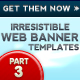 Irresistible Web Banner Templates 03 - GraphicRiver Item for Sale