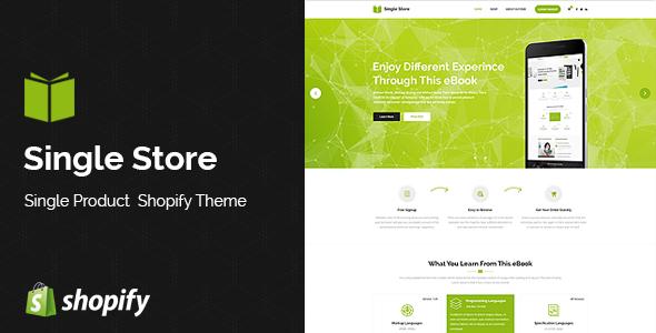Single Store | Single Product Shopify Theme - Shopping Shopify
