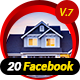 20 Multipurpose Facebook Ti-Graphicriver中文最全的素材分享平台