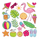 Colorful Summer Element Collection - GraphicRiver Item for Sale