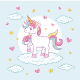 Colorful Unicorn Character Illustration - GraphicRiver Item for Sale