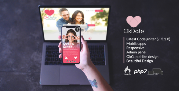 OkDate - Dating Script and Apps - CodeCanyon Item for Sale