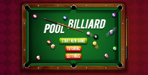 8 Ball Pool Billiards - HTML5 Sports Game - CodeCanyon Item for Sale