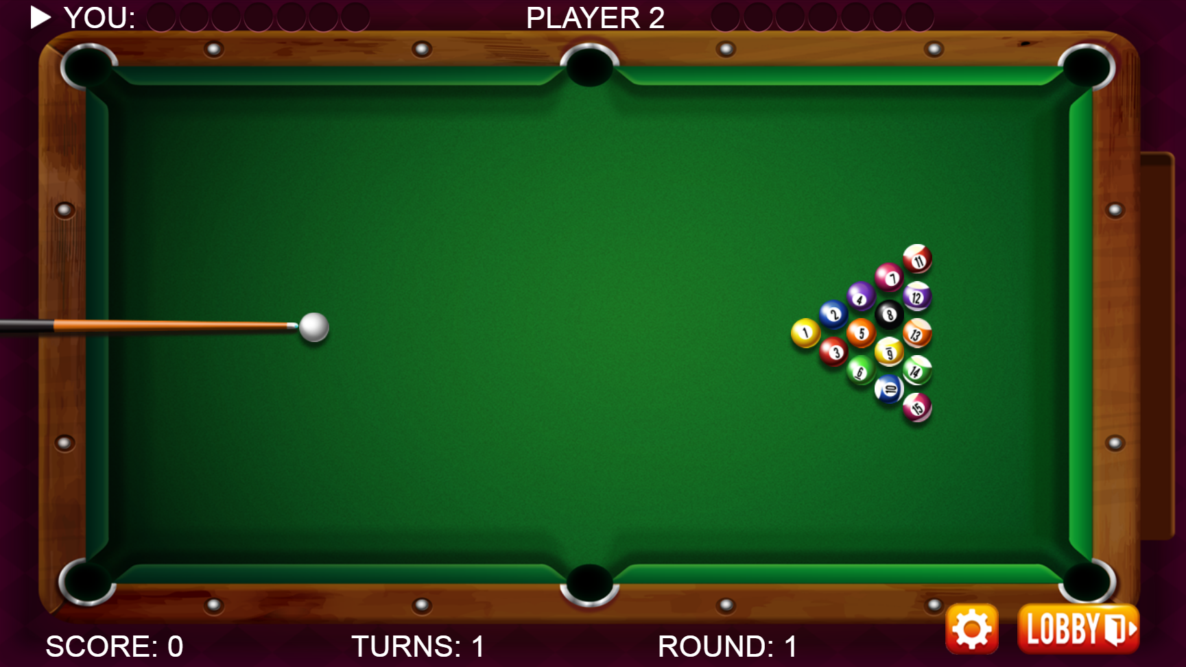 8 Ball Pool Billiards Html5 Sports Game By Dexterfly Codecanyon