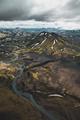 Flying over Iceland Highlands - PhotoDune Item for Sale