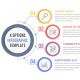 4 Steps Infographics