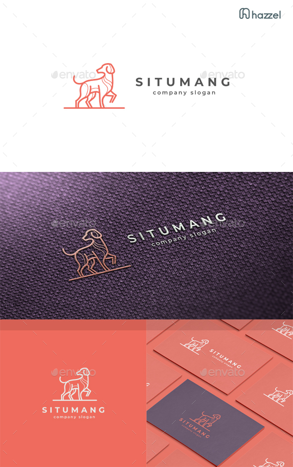 Situmang - Dog Logo Template - Animals Logo Templates
