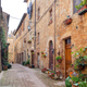 Magic streets of Pienza, Tuscany - PhotoDune Item for Sale