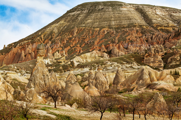 Rose valley near Goreme, Turkey - Stock Photo - Images