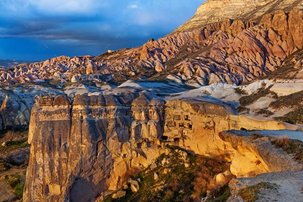 Rose valley near Goreme, Turkey - Stock Photo - Images