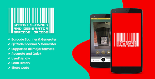 Smart Scanner and Generator Barcode | QRCode            Nulled