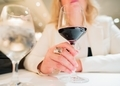 Woman with Glass of Wine - PhotoDune Item for Sale