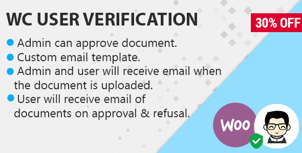 WooCommerce Customer Documents Verification On Order            Nulled