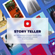 Story Teller: Instagram Templates Set