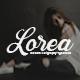 Lorea Script Font