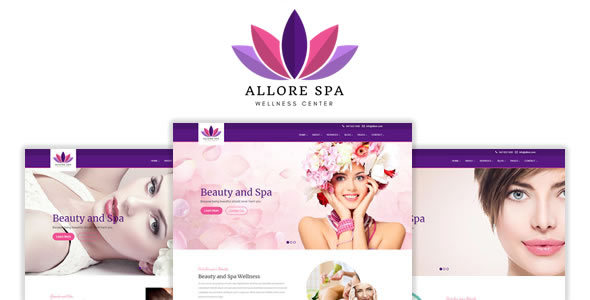 Image of Allore - Beauty and Spa HTML Template