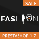 Fashion - Prestashop 1.7 Responsive Theme - ThemeForest Item for Sale