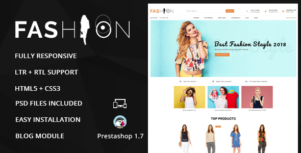 Image of Fashion - Prestashop 1.7 Responsive Theme