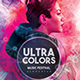 Ultra Colors Photoshop Flyer Template - GraphicRiver Item for Sale