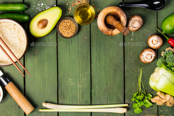 asian food concept - Stock Photo - Images