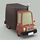 Cartoon truck - 3DOcean Item for Sale