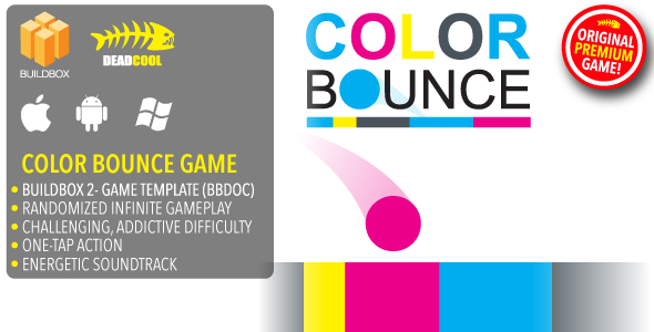Color Bounce - BuildBox 2 Game Template Document - iOS / Android / BBDOC            Nulled