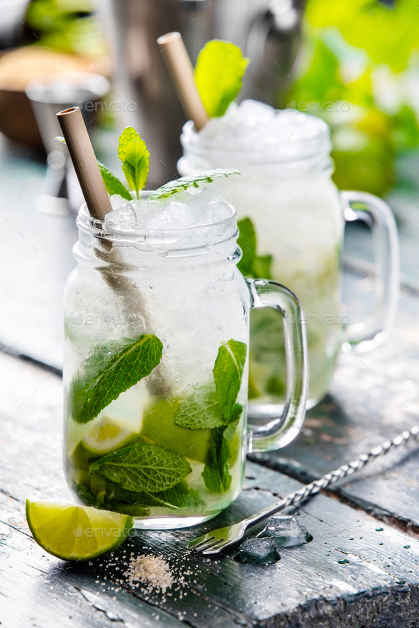 summer drinks - Stock Photo - Images
