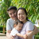 Young Asian Chinese family outdoor - PhotoDune Item for Sale